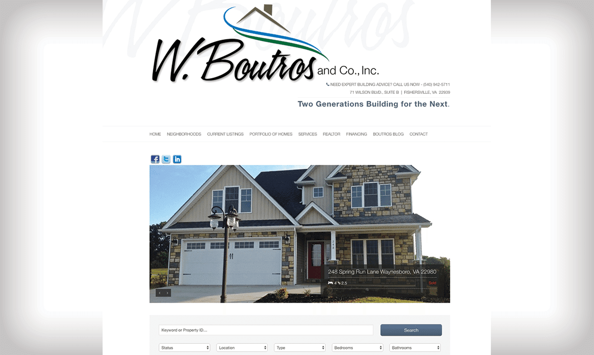 website design harrisonburg